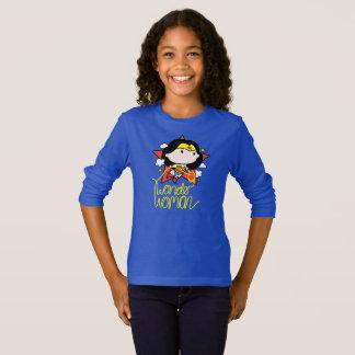 Wonder van Chibi Vrouw die met Lasso vliegen T Shirt