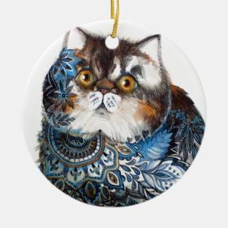 Wonder van Perzië Rond Keramisch Ornament
