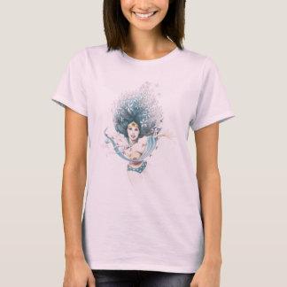 Wonder Vrouw en Bloemen T Shirt