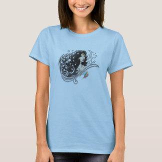 Wonder Vrouw en Sterren T Shirt