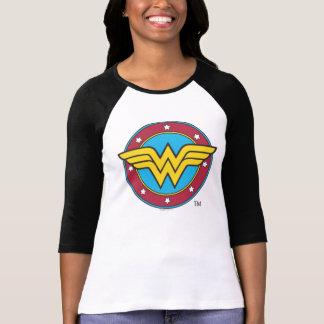 Wonder Vrouw | het Logo van de Cirkel & van T Shirt