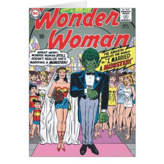 Wonder Vrouw huwde een Monster Kaart
