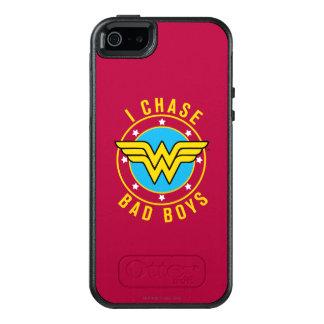 Wonder Vrouw - ik achtervolg Slechte Jongens OtterBox iPhone 5/5s/SE Hoesje
