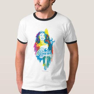 Wonder Vrouw Kleurrijke 1 T Shirt