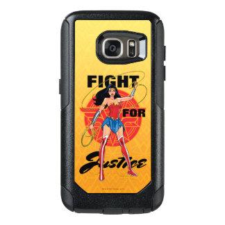 Wonder Vrouw met Lasso - Strijd voor OtterBox Samsung Galaxy S7 Hoesje