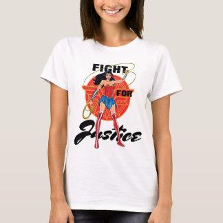Wonder Vrouw met Lasso - Strijd voor T Shirt