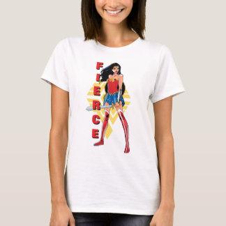 Wonder Vrouw met Woest Zwaard - T Shirt
