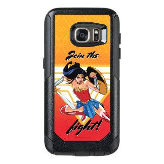Wonder Vrouw met Zwaard - sluit me aan bij de OtterBox Samsung Galaxy S7 Hoesje