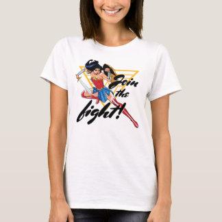 Wonder Vrouw met Zwaard - sluit me aan bij de T Shirt
