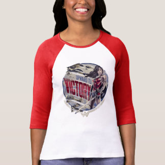 Wonder Vrouw omhoog aan Overwinning T Shirt