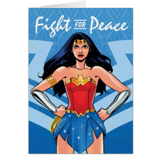 Wonder Vrouw - Strijd voor Vrede Briefkaarten 0