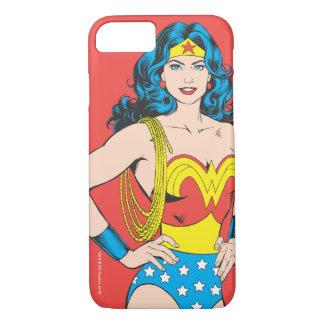 Wonder Vrouw   Wijnoogst stelt met Lasso iPhone 8/7 Hoesje