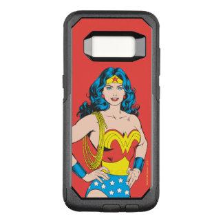 Wonder Vrouw | Wijnoogst stelt met Lasso OtterBox Commuter Samsung Galaxy S8 Hoesje