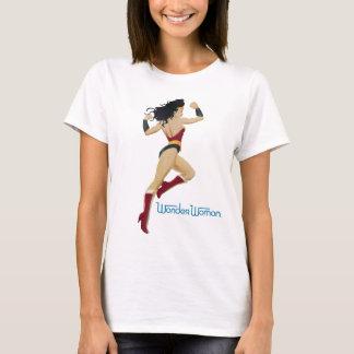Wonder Zonnestraal en de Sterren van de Stad van T Shirt