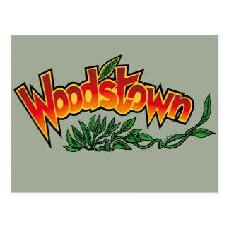 Wood'stown door Alphonse Daudet Briefkaart