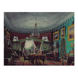 Woonkamer van Keizerin Alexandra Briefkaart