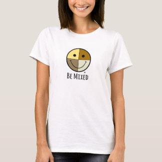 Wordt gemengd - Gezicht Smiley T Shirt