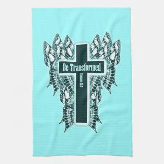 Wordt omgezet - het 12:2 van Romeinen Theedoek