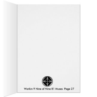Workin 9 Negen van IT van Negen 81 Musen P27 Briefkaarten 0