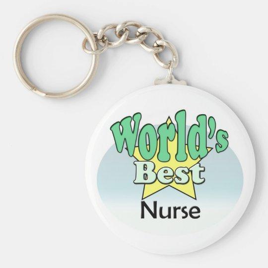 World's Best Nurse Sleutelhanger