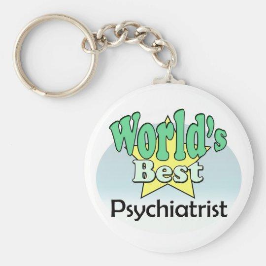 World's Best Psychiatrist Sleutelhanger
