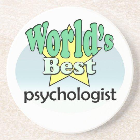 World's best Psychologist Zandsteen Onderzetter