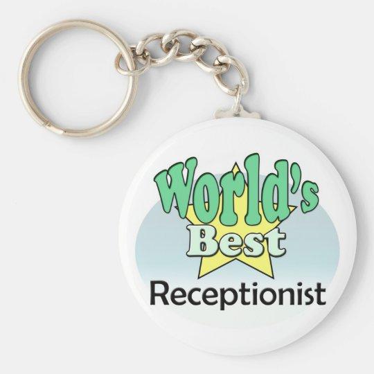 World's Best Receptionist Sleutelhanger
