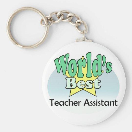 World's Best Teacher Assistant Sleutelhanger
