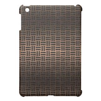 WOVEN1 HET ZWARTE METAAL VAN HET MARMER & VAN HET iPad MINI CASES