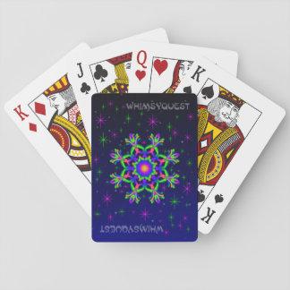 WQ Speelkaarten Groene & Paarse # 1 van de