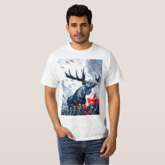 Wraakzuchtige Canadese Amerikaanse elanden T Shirt