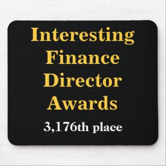 Wrede Financiën Directeur Joke Spoof Awards Muismat
