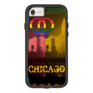 Wrigley Bldg van de Rente van Chicago Vrolijke Case-Mate Tough Extreme iPhone 8/7 Hoesje