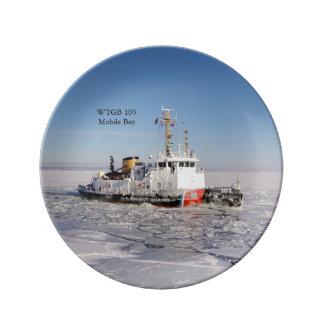 WTGB 103 het ijs decoratief bord van de Baai Porselein Bord