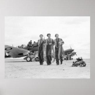 WW2 de Munitie van het vliegtuig, jaren '40 Poster