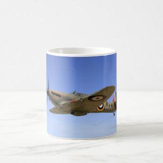 WW2 het Vliegtuig van de Vechter van de orkaan Koffiemok