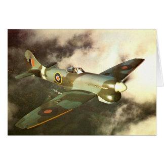 WW2 historisch Vliegtuig In oorlogstijd tijdens de Kaart