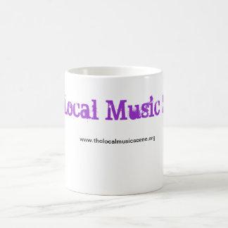 www.thelocalmusicscene.org, de Lokale Scène van de Koffiemok