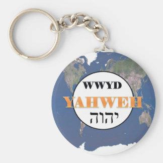 WWYD - Yahweh in de Wereld Sleutelhanger