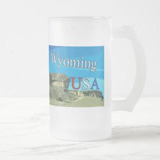 Wyoming de V.S. berijpte 16 de oz Berijpte Mok van