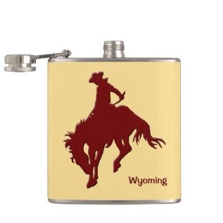 Wyoming die Paard hardnekkig verzetten tegen zich Heupfles