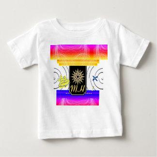 X Tekens de T-shirt van het Baby van het Monogram