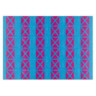 X Tekens de Vlek Roze Blauwe 4Lulu Snijplank