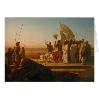 Xerxes in Hellespont Briefkaarten 0