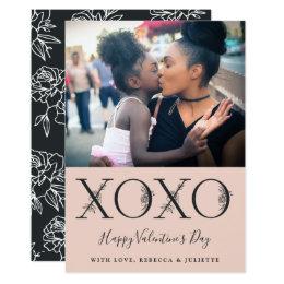 XOXO | Foto van de Valentijnsdag Kaart