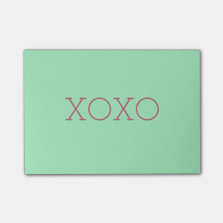 XOXO post-it®- Nota's Post-it® Notes