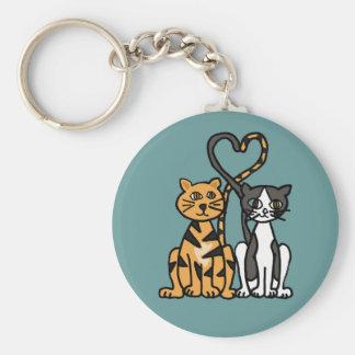XX de geweldige Liefde van de Kat van het Kat Sleutelhanger