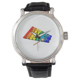 xylo grafische trommel van het speelgoedmetaal horloge