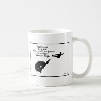 Ya kreeg het weten hoe te te vallen koffiemok