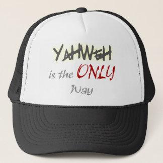 YahWeh de ENIGE Godsdienstige manier Trucker Pet